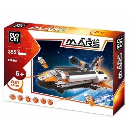 Klocki Blocki Misja Mars Statek Kosmiczny