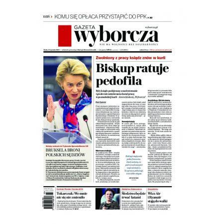 Gazeta Wyborcza - Opole 11/2020