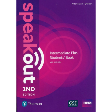 Speakout Intermediate Plus Student's Book with DVD-ROM