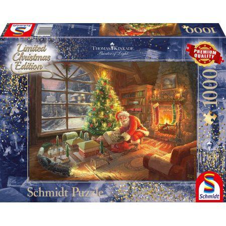 Puzzle PQ 1000 T. K Przesyłka od Świętego Mikołaja