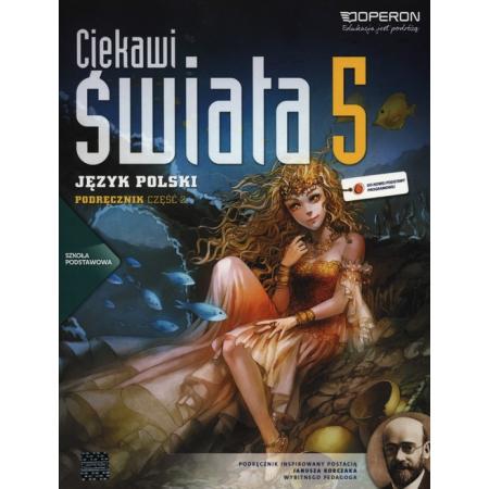 Język polski 5 SP Ciekawi świata podręcznik część 2