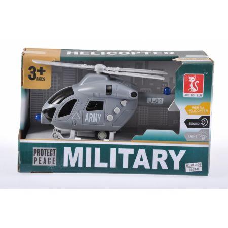 Helikopter wojskowy na baterie MEGA CREATIVE 459935