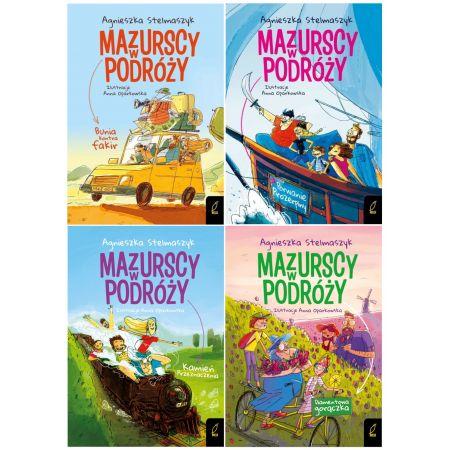 Pakiet: Mazurscy w podróży. Tomy 1-4