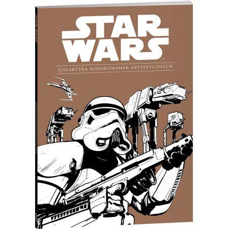 Star Wars. Galaktyka kolorowanek artystycznych