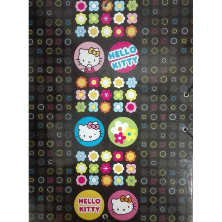Teczka z gumką twarda A4 Hello Kitty