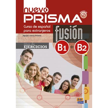 Nuevo Prisma fusion B1+B2 ejerc. + CD