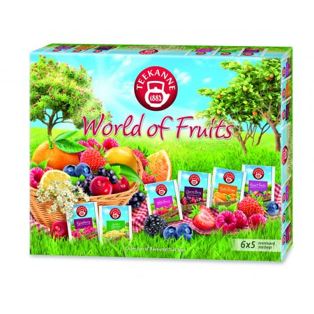 Zestaw herbat owocowych World of fruits collection