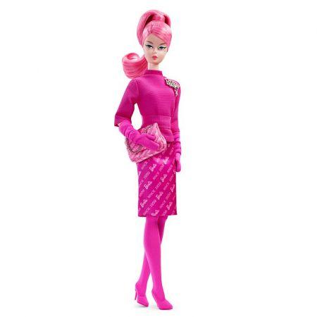 Barbie Signature. Różowa lalka kolekcjonerska FXD50