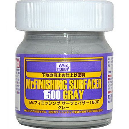 Finishing Surfacer 1500 Gray