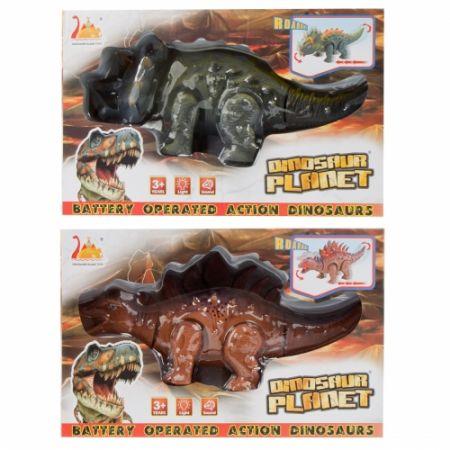 Dinozaur na baterie 29x18x10cm MC