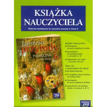 Chłodny Tajemnice przyrody 6 książka nauczyciela z płytą CD Jolanta CL91