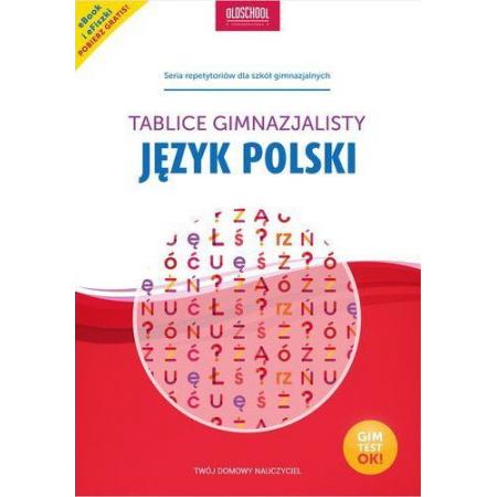 Tablice gimnazjalisty. Język polski
