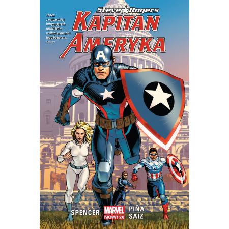 Kapitan Ameryka. Steve Rogers. Tom 1
