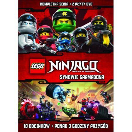 Lego Ninjago Synowie Garmadona 2 Dvd Klocki W Taniaksiazkapl