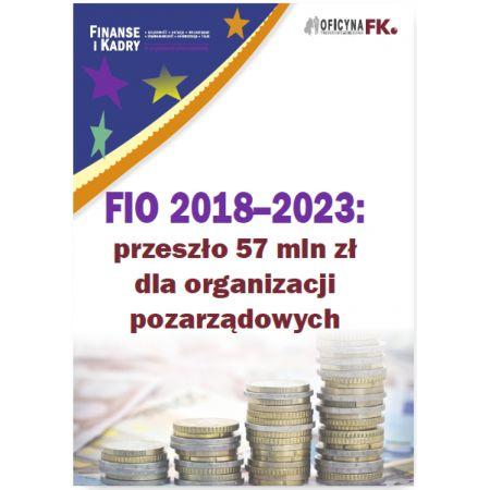 FIO 2018-2023: przeszło 57 mln zł dla organizacji pozarządowych