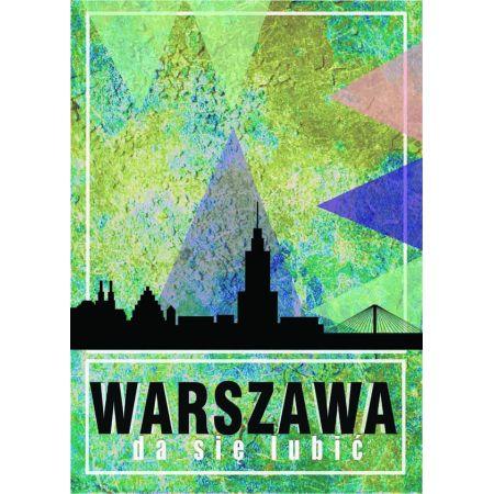 Warszawa da się lubić - plakat
