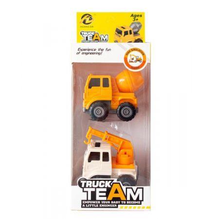 Auta mini Samochody budowlane mini 2-pak ASKATO