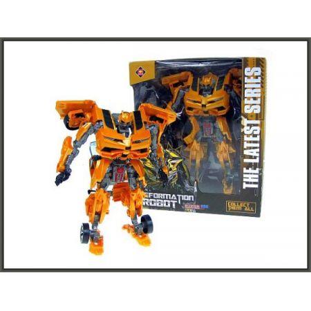 Robot autotransformer z bronią 26cm w pudełku 8814A