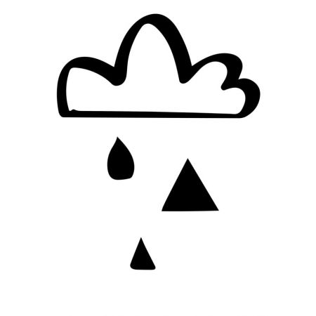 Chmura - plakat