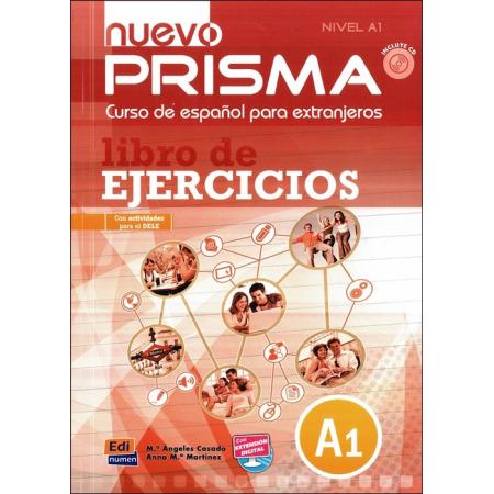 Nuevo Prisma nivel A1 ćwiczenia + CD EDI-NUMEN