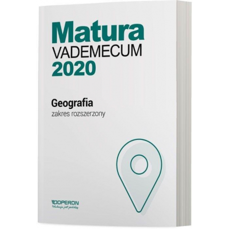 Matura 2020 Geografia Vademecum ZR OPERON