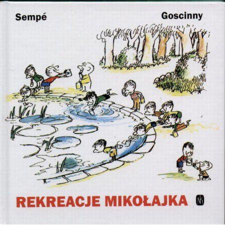 Znalezione obrazy dla zapytania Goscinny Sempé : Rekreacje Mikołajka