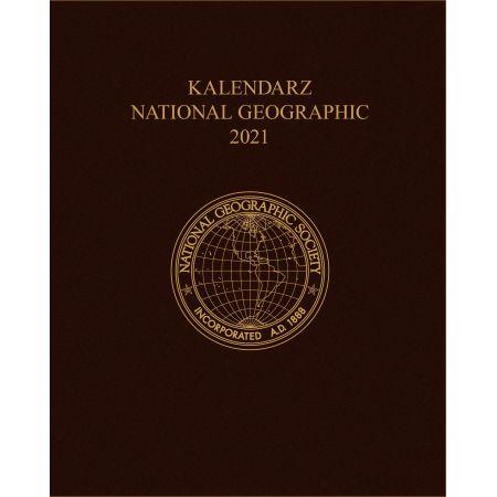Kalendarz National Geographic 2021 brązowy
