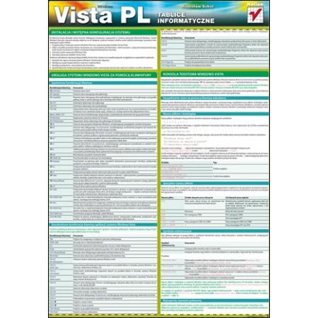 Tablice informatyczne. Windows Vista PL
