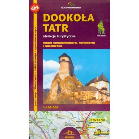 Dookoła Tatr mapa