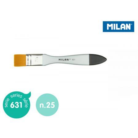 Pędzel MILAN spalter Premium Synthetic seria 631 nr 25 blister