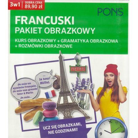 Francuski pakiet obrazkowy 3w1