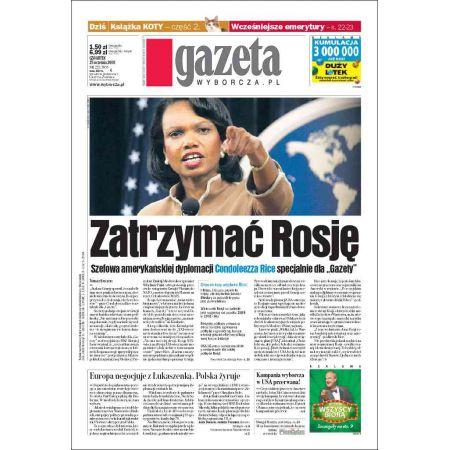 Gazeta Wyborcza - Zielona Góra 225/2008