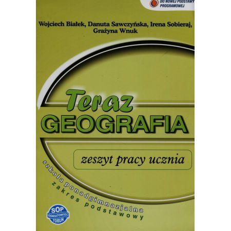 Geografia LO Teraz geografia zeszyt ćwiczeń SOP