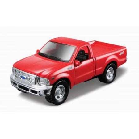 MI 21001-99 Auto Power Racer Ford F-350 PickUp czerwony