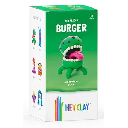 Hey Clay. Masa Plastyczna. Burger