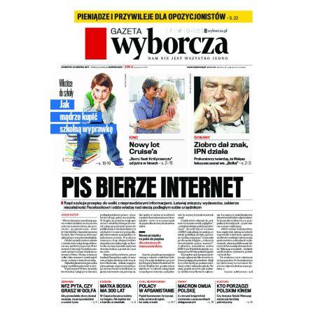 Gazeta Wyborcza - Zielona Góra 196/2017