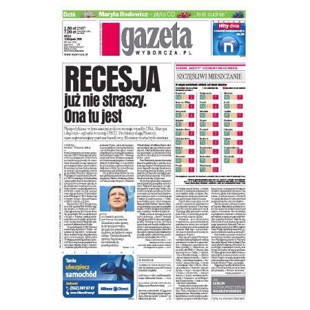 Gazeta Wyborcza - Częstochowa 266/2008