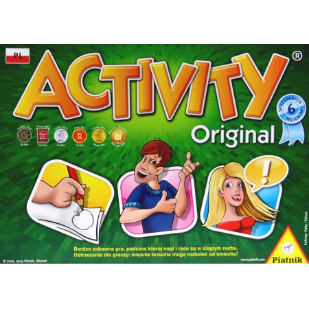 Activity. Gra planszowa