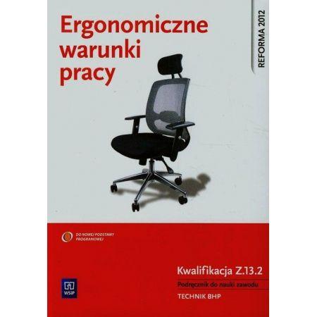 Ergonomiczne warunki pracy. Podręcznik do nauki zawodu BHP. Kwalifikacja Z.13.2