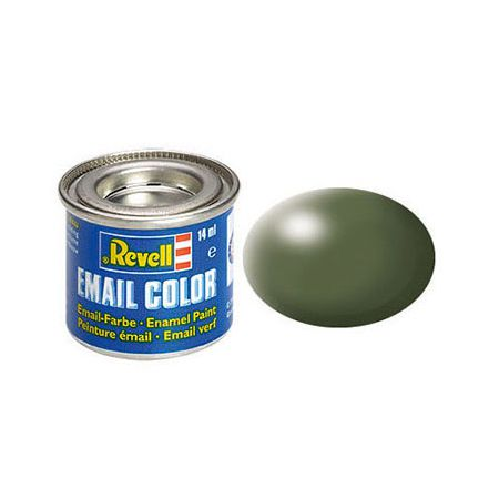 Email Color 361 Olive Green Silk