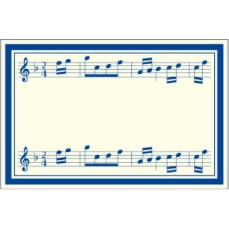 Naklejki dekoracyjne ETK 217 Muzyka 6szt ROSSI