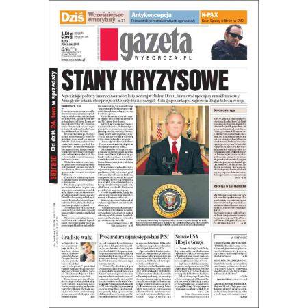 Gazeta Wyborcza - Kielce 226/2008