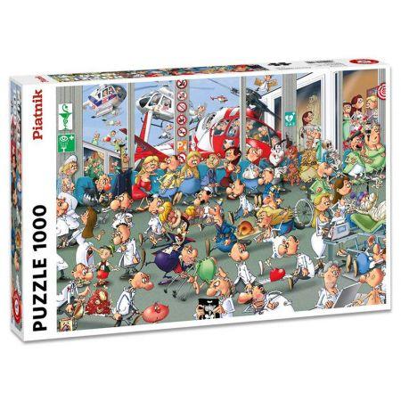 Puzzle 1000 - Accidents + Emergencies PIATNIK