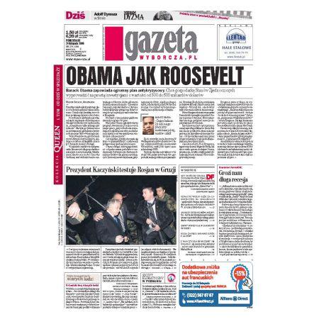 Gazeta Wyborcza - Płock 274/2008
