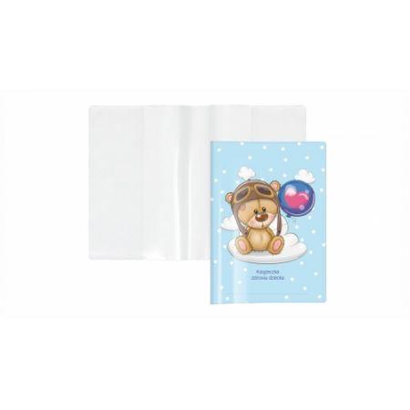 Okładka na książeczkę zdrowia dziecka A5 BIURFOL miś KZ-00-03