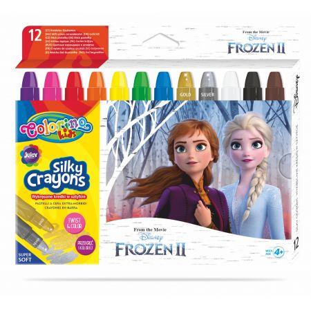 Kredki żelowe wykręcane Colorino Kids 12 kolorów Frozen