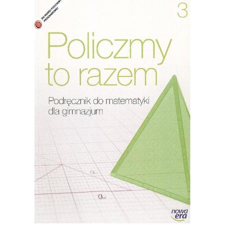 Policzmy to razem Matematyka 3 Podręcznik