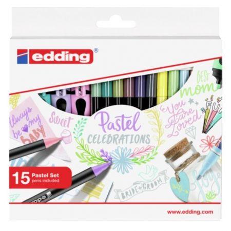 Zestaw do pisania i kolorowania Pastelowy