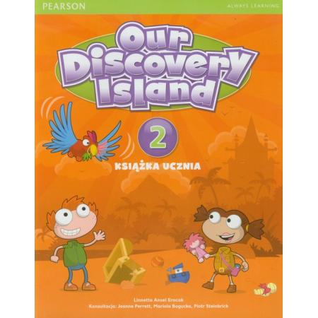 Our Discovery Island 2 SB+kod PEARSON