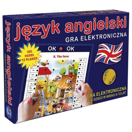 Wiem wszystko: Język angielski. Gra planszowa